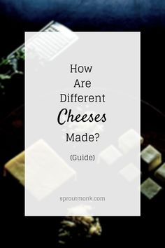 Learn how different varieties of cheeses are made in the world. Step by step process explained. Videos included for reference! North Indian Recipes, South Indian Food, Indian Food Recipes, New Recipes, Ethnic Recipes, Food Tips, Diy Food, Food Hacks, Yummy Snacks