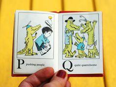 Pushing People / Quite Quarrelsome from 'Alligators All Around: A Maurice Sendak Alphabet Book', 1962