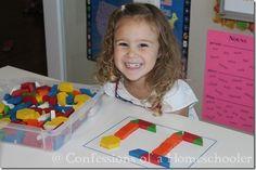FREE Alphabet Pattern Block Printables