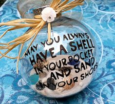 Nautical Ornament by SimplySea on Etsy, $12.00