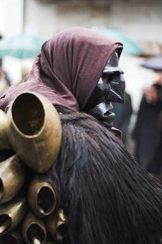 Mamuthone, traditional carnival costume of Mamoiada, Sardinia