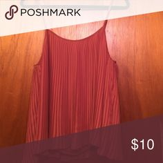 Pleated top Pleated detail top, super cute paired with black tights and boots. Tops Blouses