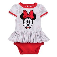 Minnie Mouse Bodysuit for Baby | shopDisney