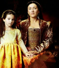 Queen Catherine & Princess Mary