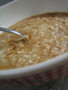 Applesauce Oatmeal - read reviews about the ginger WARNING! ... ABOUT THAT GINGER