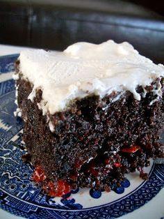 Easy To Make With Just Ings 1 Box Chocolate Cake Mix Any Variety 2 And Cups Mini Marshmallows Can Cherry Pie Filling Package Dream Whip