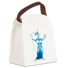 Shop Azodnem: A Northern Lady Canvas Lunch Bag: Oz Fact: The elderly, mild-mannered Good Witch of the North is an extremely kind and gentle sorceress who stood against the oppression and subjugation of any Ozian. Wizard Of Oz Gifts, Reusable Tote Bags, Husband, Lunch, Canvas, Lady, Shopping, Tela, Lunches
