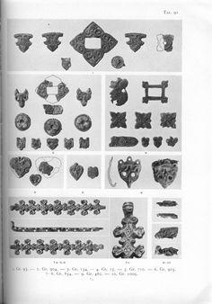 Holger Arbman - Birka I  The bead separators!!