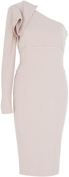 Elie Saab One Shoulder Dress