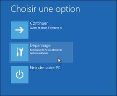 Windows 10 : créer une clé USB de récupération pour dépannage