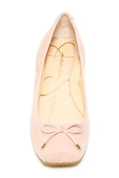 Jessica Simpson Melikah Ballet Flat in Pink Cute Shoes, On Shoes, Me Too Shoes, Toms Flats, Ballet Flats, Shoe Closet, Shoe Shoe, Fashion Bags, Fashion Ideas