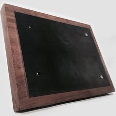 Shop for on Etsy, the place to express your creativity through the buying and selling of handmade and vintage goods. Magnetic Picture Frames, Magnets, Industrial, Etsy Shop, Rustic, Simple, Wood Steel, Handmade Gifts, Instagram Posts
