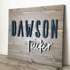 Your place to buy and sell all things handmade Modern Wood Name Sign 16 x 19 - Wood Name Board - RECTANGLE - Custom Wall Art - Nursery Decor - Pers Name Wall Decor, Name Wall Art, Wood Name Sign, Wood Names, Cute Baby Names, Unique Baby Names, Nursery Signs, Nursery Wall Art, Nursery Decor