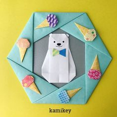 {602D47BF-965F-455C-979F-9DFFA21224E3} Origami Quilt, Origami Cards, Origami And Quilling, Origami Easy, Origami Paper, Cute Crafts, Diy And Crafts, Arts And Crafts, Paper Crafts
