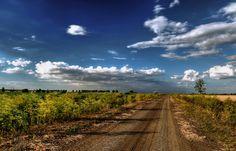 Felhők az út felett