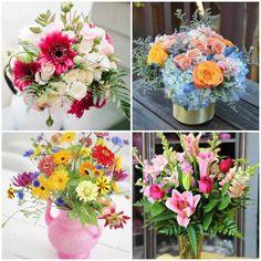 Arranjo Floral para Dia das Mães - Como Plantar e Cuidar Floral Wreath, Wreaths, Table Decorations, 30, Pasta, Home Decor, Flower Arrangements, Floral Arrangements, Succulents Garden