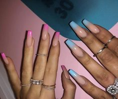 Vanessa Hudgens, Queen of Halloween, Just Got the Coolest Spider Web Manicure Coffin Nails coffin nails kylie jenner Ongles Kylie Jenner, Kylie Jenner Nails, Coffin Nails Designs Kylie Jenner, Khloe Kardashian Nails, Pink Ombre Nails, Purple Nail, Coffin Ombre Nails, Neon Blue Nails, Pink Tip Nails