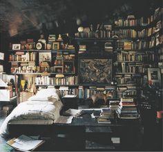 . #books #study #den