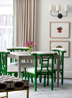 <p>A young family's apartment gets a colorful makeover from New Trad Christina Murphy</p>