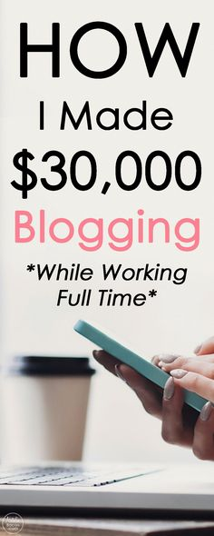 My Blogging Journey, and How I Make Money Blogging by Natalie Bacon