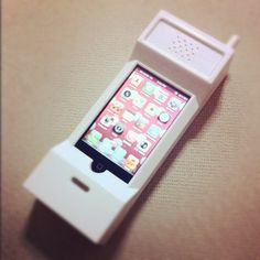 80s Cell Phone Case for iPhone.OMG I WANT THIS CASE......AND AN IPHONE TO PUT IN IT!