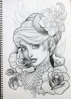 Done by Crispy Lennox. ((fuckkkkk this is so fucking gorgeous! Coloring Pages For Girls, Colouring Pages, Tattoo Sketches, Art Sketches, Body Art Tattoos, Girl Tattoos, Britney Spears Tattoos, Tattoo Designer Online, Pencil Drawings