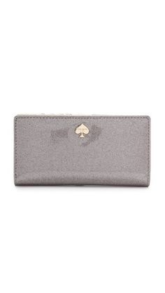 Kate Spade New York Stacy Glitter Continental Wallet