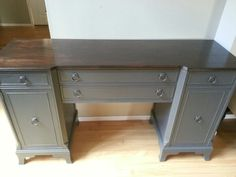 Queenstown Gray Sideboard.  www.facebook.com/olcountrychic