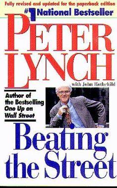 596eda8b7b28d0 Beating the Street by Peter Lynch http   www.amazon.com