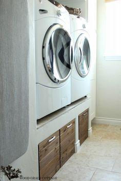 DIY Waschküche Kisten                                                                                                                                                                                 Mehr