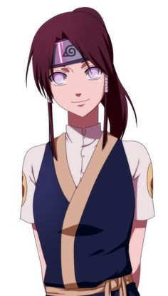 If Neji was alive and got married to Tenten, this is how I imagine what their daughter would look like. It kills me how perfect they are for each other
