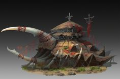 Hercules by qi liu on ArtStation. Fantasy World Map, Fantasy Places, Fantasy Art, Environment Concept Art, Environment Design, Building Concept, Fantasy Landscape, Environmental Art, Medieval Fantasy
