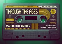 Through the Ages by Andy Cornacchia, via Behance