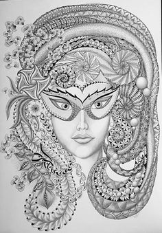 Adult Coloring Books Faces - Adult Coloring Books Faces , Instant Digital Adult Coloring Page Woman Flower Colorful Drawings, Colorful Art, Grayscale, Zentangle Drawings, Zentangle Art, Greyscale, Coloring Pages, Color