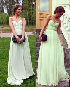 Sweetheart Prom Dresses,Floor Length Green Prom Dress with Ruched,A Line Evening Dress,Long Party Dress,Long Homecoming Dresses