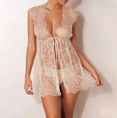Blush Lace Chemise Lingerie. This would go perfectly in the studios wardrobe room!