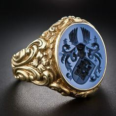 signet ring coat of arms 18th century - Google Search