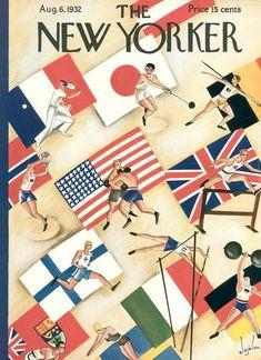 Constantin Alajalov. Berlin 1936. Historia de los JJ.OO. a través de las Portadas del New Yorker