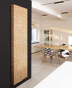 grzejnik dekoracyjny Vertiga Kirei - nowy materiał z odpadów soi