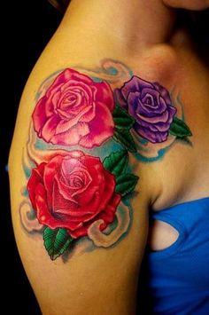 tatuagens de flores - Pesquisa Google