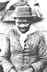 "Harriet Tubman was a runaway slave from Maryland who became known as the ""Moses of her people."""