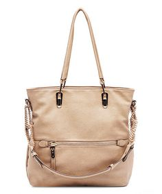 Look what I found on #zulily! Camel Venice Elegant Tote by MKF Collection #zulilyfinds