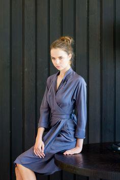 Uffe Frank silk dress,