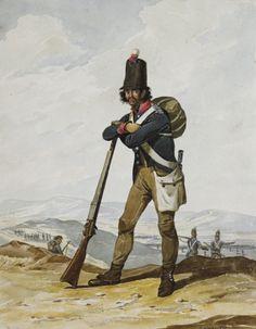Portuguese Army, Militia, 1812.