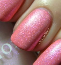 Dior Bloom Bouquet 457 and Perlé 187 - from the Dior Trianon Collection for Spring 2014 Dior Nail Polish, Mani Pedi, Spring 2014, Toe Nails, Nifty, Swatch, Bouquet, Bloom, How To Apply