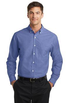 Port Authority® SuperPro™ Oxford Shirt. S658