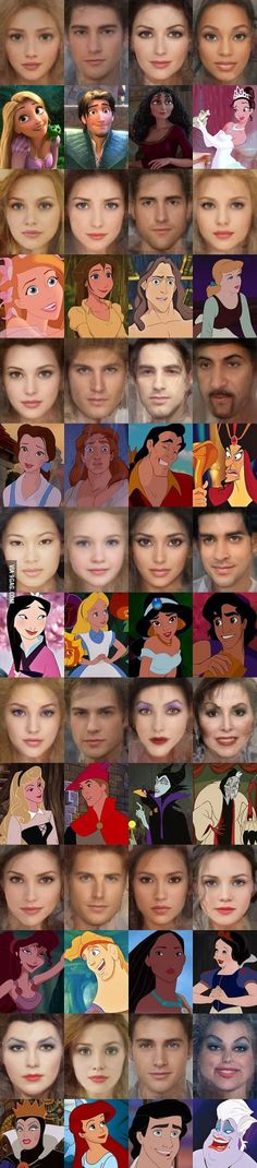 How famous Disney characters would look like in real life