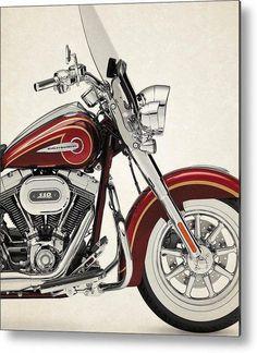 JL Soul Illustration For A Harley Davidson SuperLow Motorbike Fan Jumper