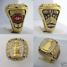 Greatest Maurice Richard Montreal Canadiens Stanley Cup 1959-60 Replic