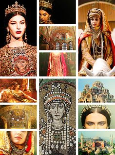 history series → the byzantine empress [theodora i]: those who have worn the crown should never survive its loss. never will i see the day when i am not saluted as empress